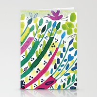 forest - pattern Stationery Cards