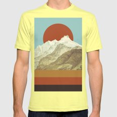 MTN Mens Fitted Tee Lemon SMALL