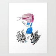 Grrr! Art Print