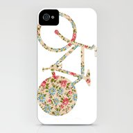 Whimsical Cute Girly Flo… iPhone (4, 4s) Slim Case