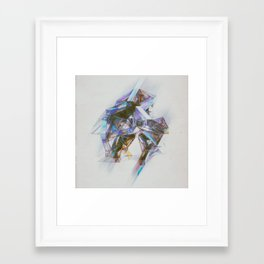 Framed Art Print - SHATRTD (02.07.16) - beeple