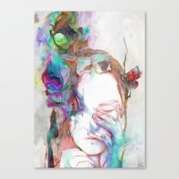 Falling In Canvas Print
