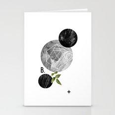 B-plus. Stationery Cards