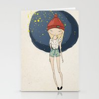 Ange - Fashion Illustrat… Stationery Cards