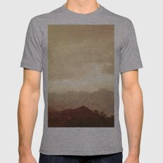 mountains (01) Mens Fitted Tee Athletic Grey SMALL