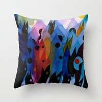 Swim School Throw Pillow