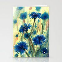 Cornflowers Stationery Cards