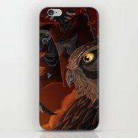 solar owls mars  iPhone & iPod Skin