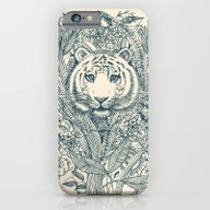 iPhone & iPod Case featuring Tiger Tangle by Micklyn