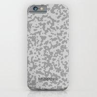 Comp Camouflage / Grey iPhone 6 Slim Case
