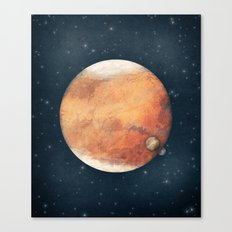 The Red Planet Canvas Print