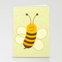 Cute Baby Bee Stationery Cards