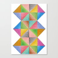 anomaly from {Make It Beautiful} Canvas Print