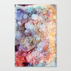 Painted Crystal Canvas Print