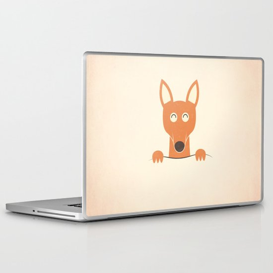Pocket Kangaroo Laptop & iPad Skin