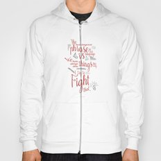 Grace Hopper sentence - I always try to Fight That - Color version Hoody