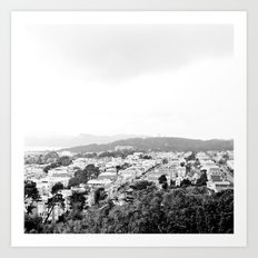 San Francisco Cityscape No. 1 Art Print