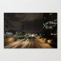 01 - DownTown_LA Canvas Print