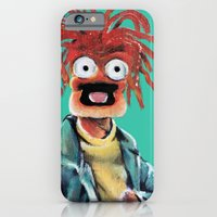 iPhone & iPod Case featuring Pepe The King Prawn by Kristin Frenzel