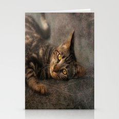tiger of the street Stationery Cards