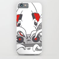iPhone & iPod Case featuring Low Key squiDJ by Hurtin Albertan