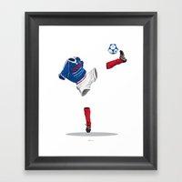 France 1998 - World Cup … Framed Art Print