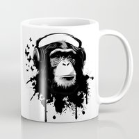 Monkey Business - White Mug