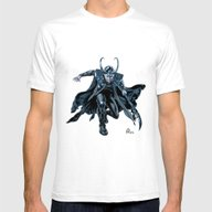 Loki Mens Fitted Tee White SMALL