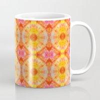 Orange Sunburst Mug