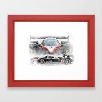 Peugeot 908 Framed Art Print