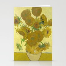 Sunflowers by Vincent van Gogh Stationery Cards