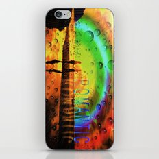 Romantic Sunset Reflections and Rainbow iPhone & iPod Skin