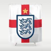 England Minimal Shower Curtain