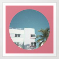Miami Beach 1 Art Print