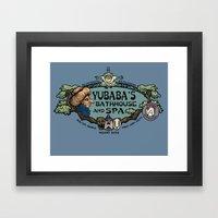 Yubaba's Bathhouse Framed Art Print