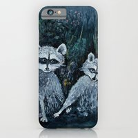 Rambling Raccoons Midni… iPhone 6 Slim Case
