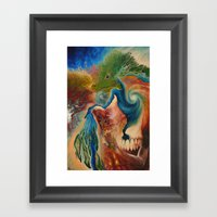 Terrene Genealogy Framed Art Print
