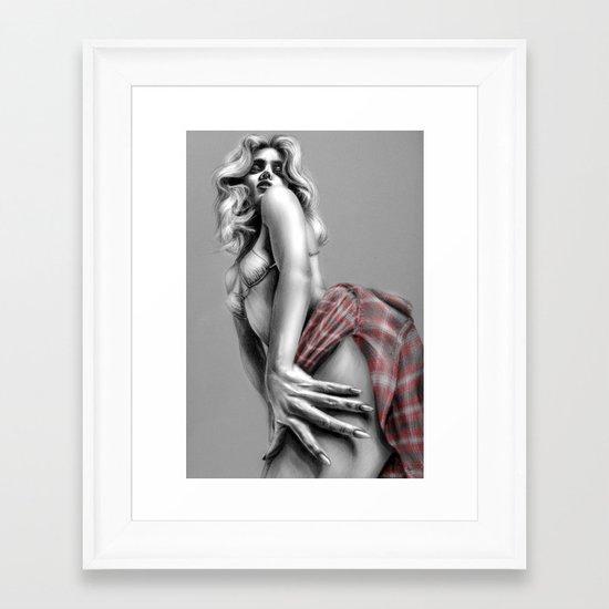 + Lithium + Framed Art Print