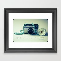 Instamatic Photography Framed Art Print