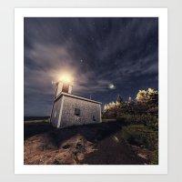 Point Prim Lighthouse Art Print