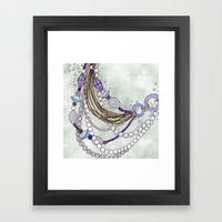 Glamour Framed Art Print