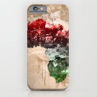 iPhone Cases featuring Motherland by rhayvenc