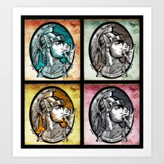 Quadruple Italian Express Art Print