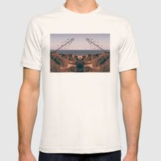 An Impending Fall Mens Fitted Tee Natural SMALL