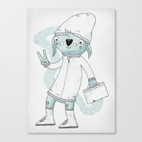 Badge Of Approval Canvas Print