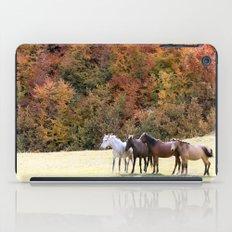 Horses Valley iPad Case