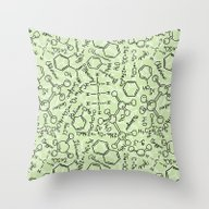 School Chemical #6 Throw Pillow