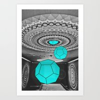Dodecahedron Manifestati… Art Print