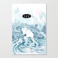 Good sleep Canvas Print