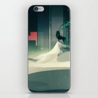 Winter In A Dark World iPhone & iPod Skin